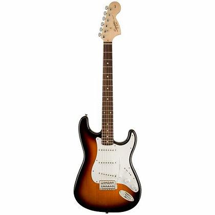 Guitarra Fender Stratocaster Affinity LRL Brown Sunburst