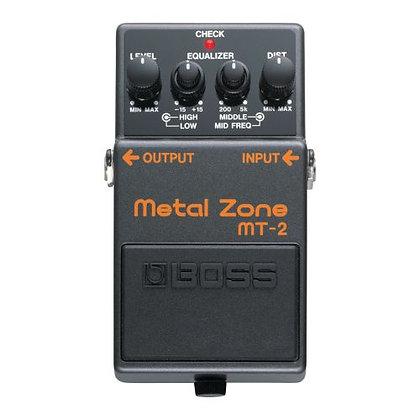 Pedal p/Guitarra Boss Metal Zone MT-2