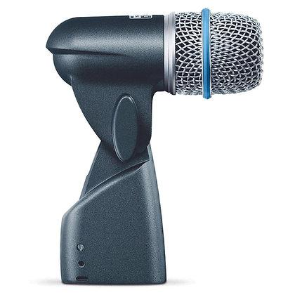 Microfone c/Fio p/ Bateria Dinamico Beta56A
