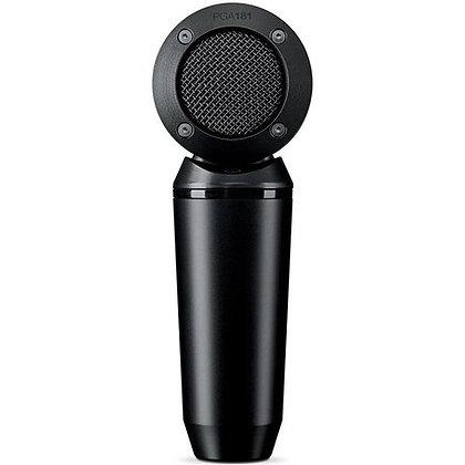 Microfone c/Fio de Instrumento Condensador PGA181-LC