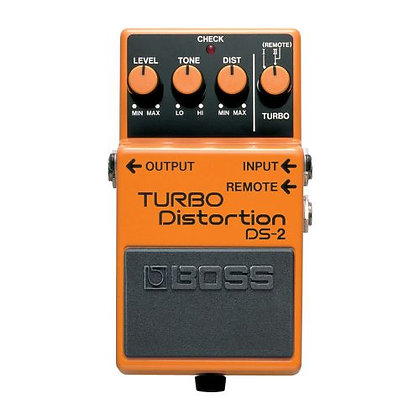 Pedal p/Guitarra Boss Turbo Distortion DS-2