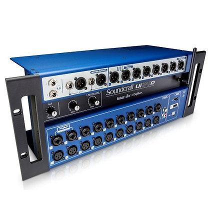 Mesa de Som Digital Profissional 24 Canais Soundcraft UI-24R