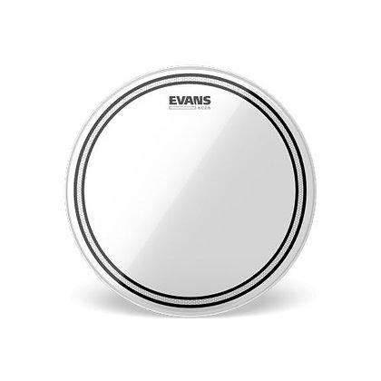"""Pele p/Caixa/Tom 12"""" Transparente Evans EC2S TT12EC2S"""