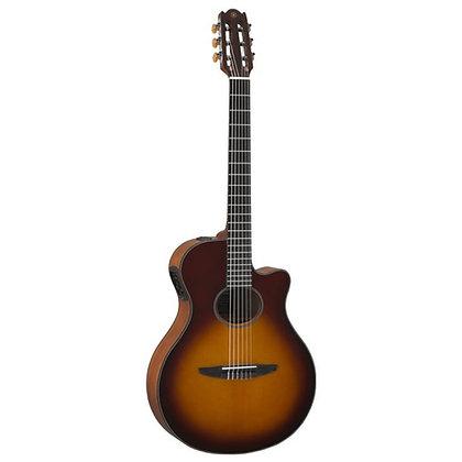 Violão Elétrico Nylon Yamaha NTX500 Brown Sunburst