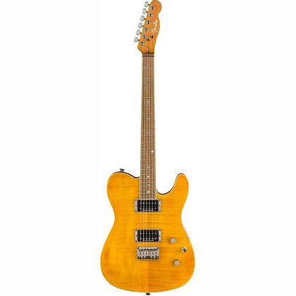Guitarra Fender Telecaster Custom FMT HH Amber