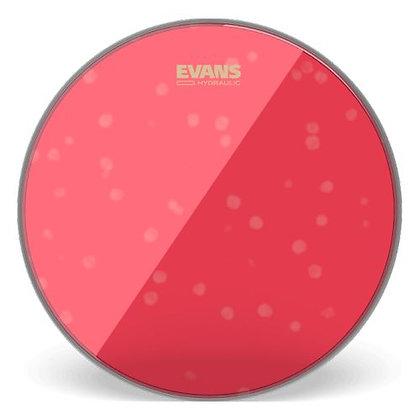 "Pele p/Surdo 22"" Transparente Evans Hydraulic Red BD22HR"