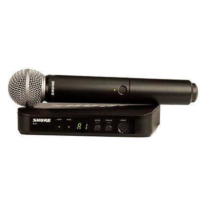 Microfone s/Fio de Mão Shure BLX24BR/SM58