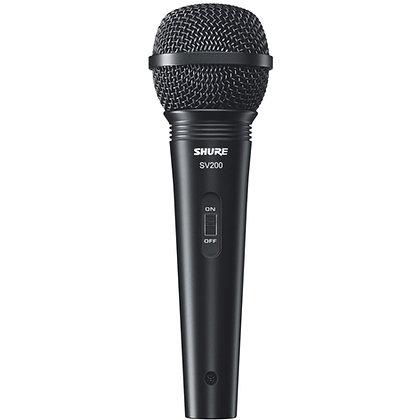 Microfone c/Fio Vocal Shure SV200