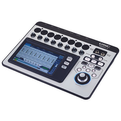 Mesa de Som Digital 8 Canais QSC TouchMix-8