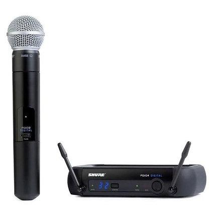 Microfone s/Fio de Mão Shure PGXD24BR/SM58