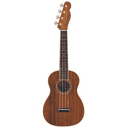 Ukulele Acústico Concert Fender Zuma Natural