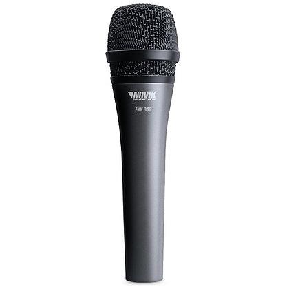 Microfone c/Fio Vocal Novik Neo FNK-840