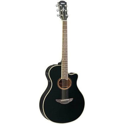 Violão Elétrico Aço Yamaha APX700II Black