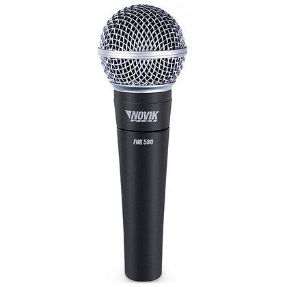 Microfone c/Fio Vocal Novik Neo FNK-580