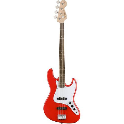 Contrabaixo Fender 4C Squier Affinity JazzBass Racing Red