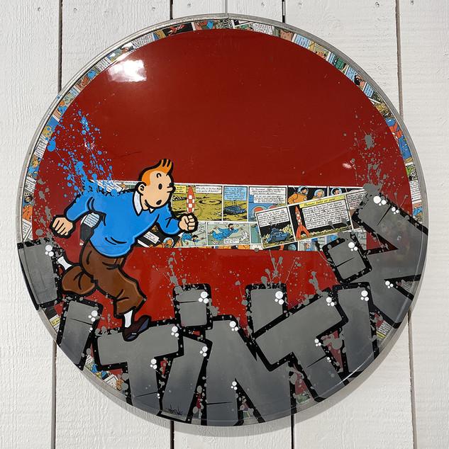 Panneau Tintin
