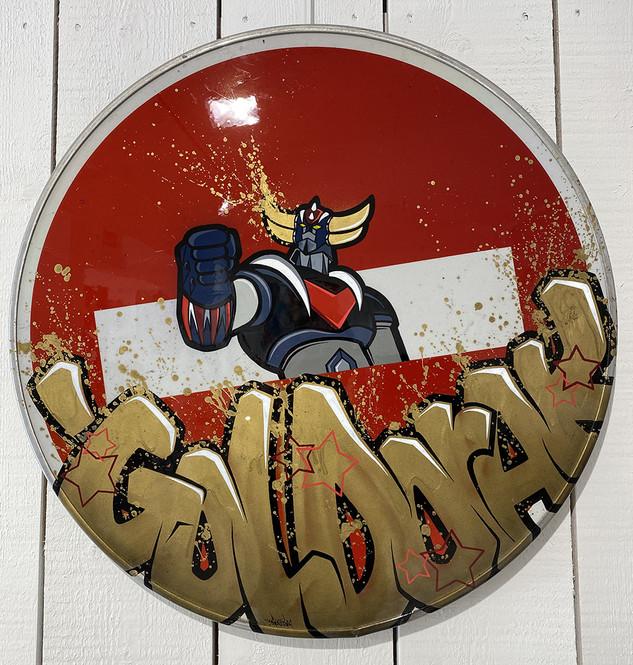 Panneau Goldorak
