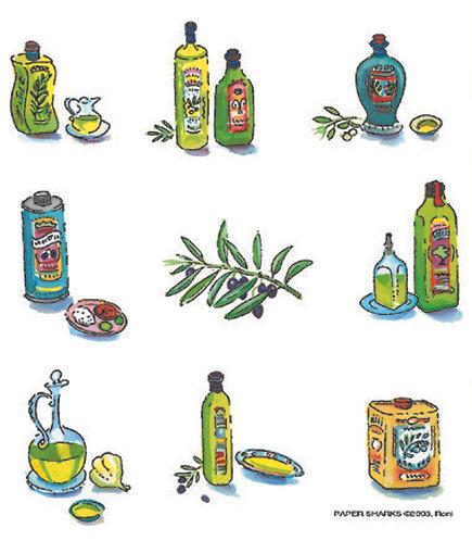 RS507  Olive Oil Bottles