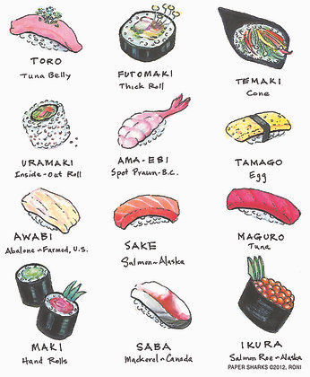 RS134  Sushi Apron