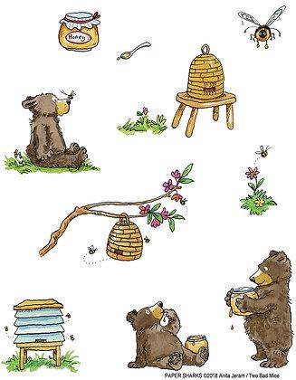 AJ521 Honey Bears