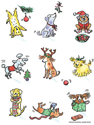 RS464  New Xmas Dogs