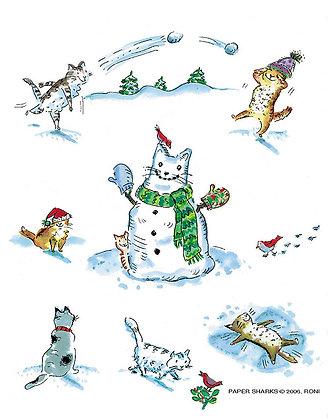 RS441  Snowcats Apron