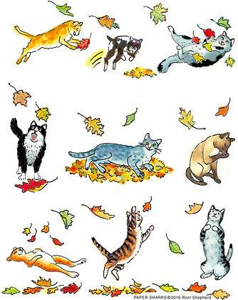 RA358 Fall Cats