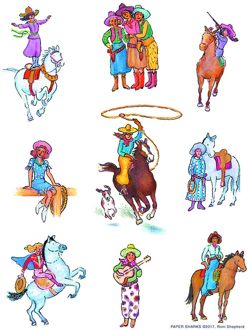 RS160 Cowgirls
