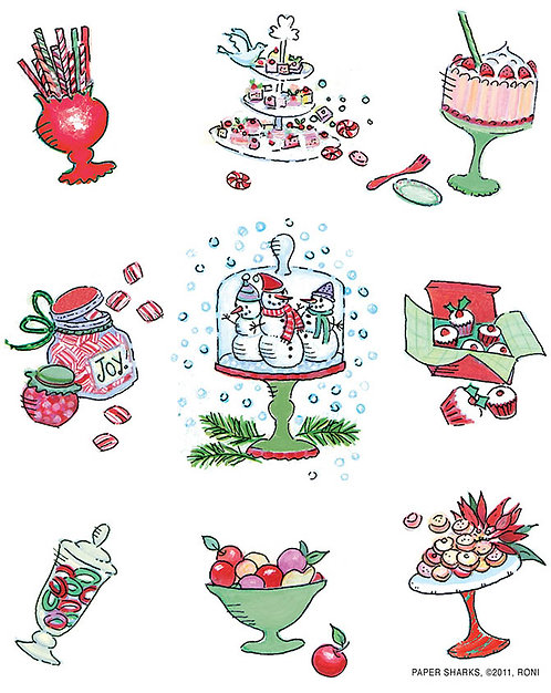RS473  Xmas Sweets