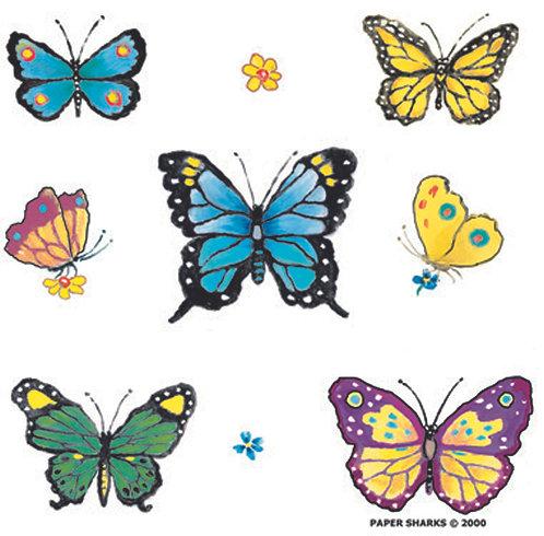 SB101  Butterflies Apron