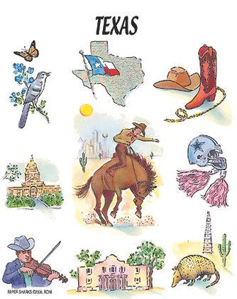 RA104  Texas Apron