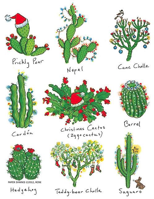 RS478  Cactus Xmas