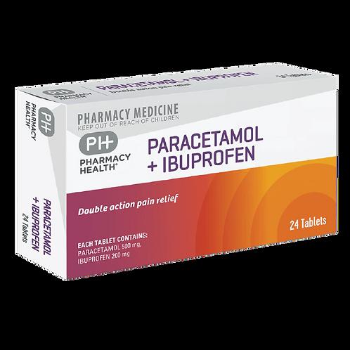 Paracetamol + Ibuprofen