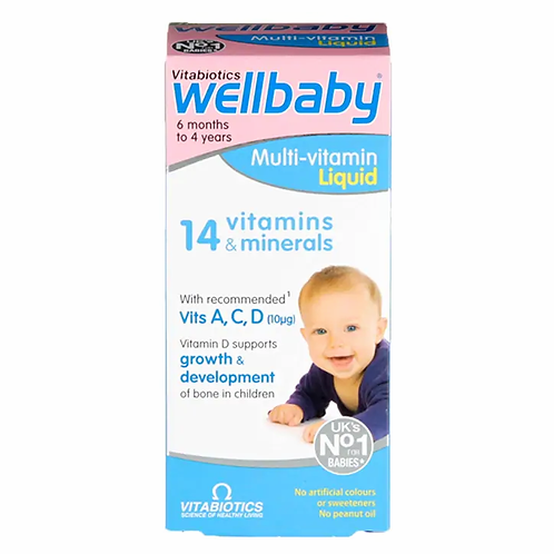 Well Baby Multivitamin with Vitamin C