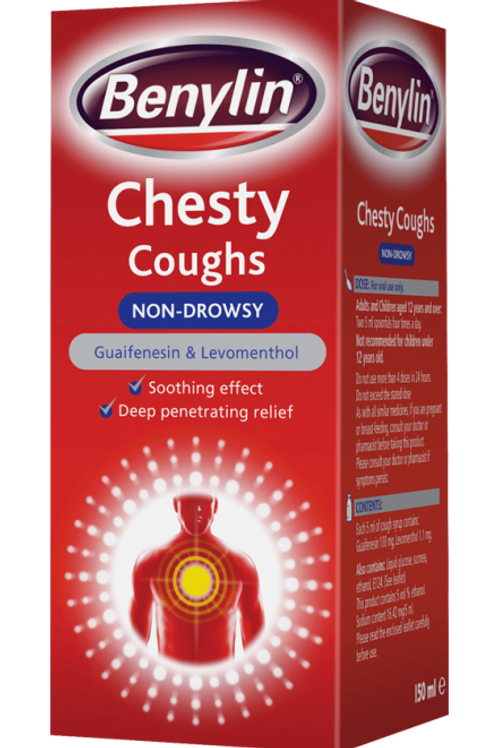 Benylin Cough Syrup Chesty