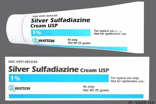 Silver Sulfadiazine Cream USP 1%