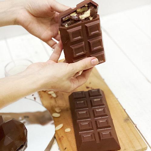 Barra de chocolate belga trufada