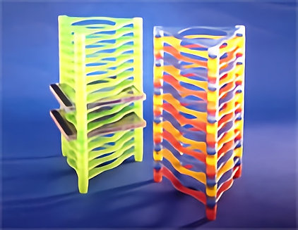 CD Rack Set of 16pcs (# HK-6601)