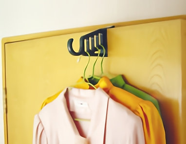 Clothes Hanger. 5 in 1 (# CH-701)
