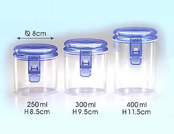 Mini Air Tight Jar  (#DF-822)
