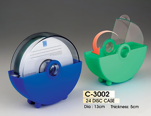 24 DISC CASE (# C-3002)