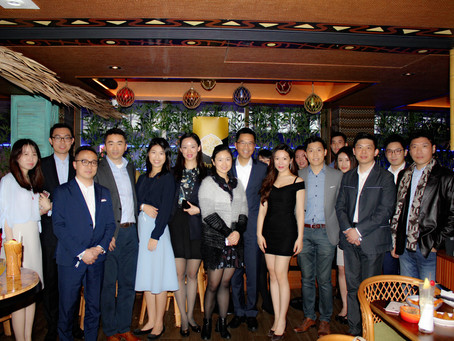 Elysian Executive Club's monthly cocktail party