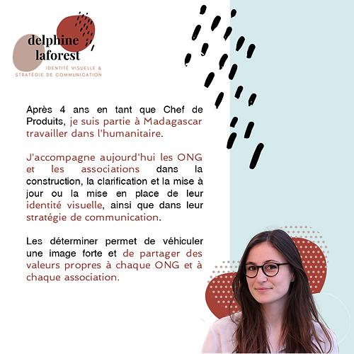 Delphine Laforest communication ONG