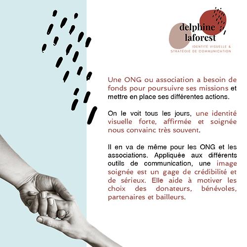 delphine laforest accompagnement en communication des ONGs et des assocations