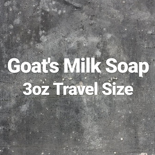 Goat's Milk Liquid Hand Soap- Travel Size