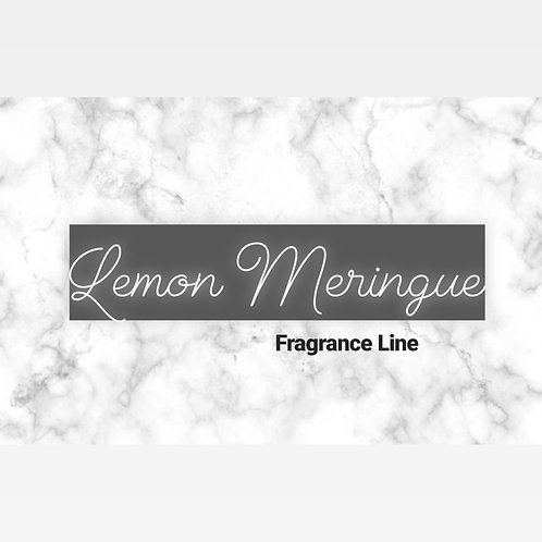 Lemon Meringue Fragrance Line