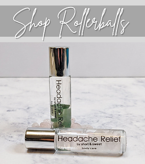 Shop Essential Oil Rollerballs | Short & Sweet Body Care
