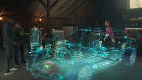 """Videollamadas se quedan en 2020, Microsoft diseñó holograma para tener reuniones """"presenciales""""."""