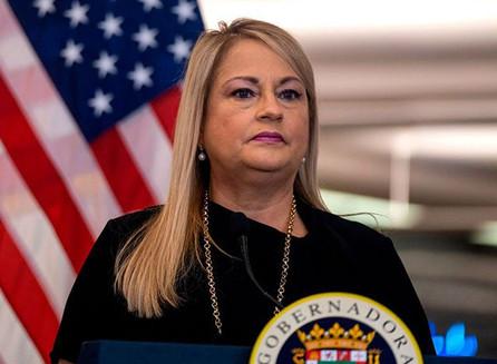 La gobernadora de Puerto Rico, Wanda Vázquez Garced, respalda al presidente Donald Trump.