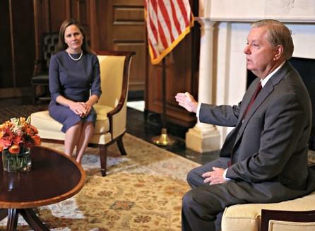 Lindsey Graham anuncia audiencias de confirmación de la Corte Suprema.